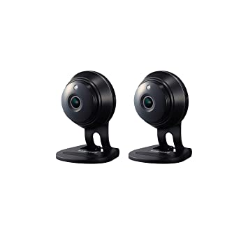 Samsung SNH-V6414BMR SmartCam HD Full HD 1080p Wi-Fi Camera Bundle Double  Pack, Black (Renewed)