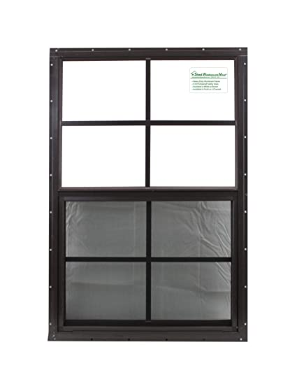 21 X 27 Shed Window Safety Glass Storage Shed Garages Playhouse Tree House Brown Flush