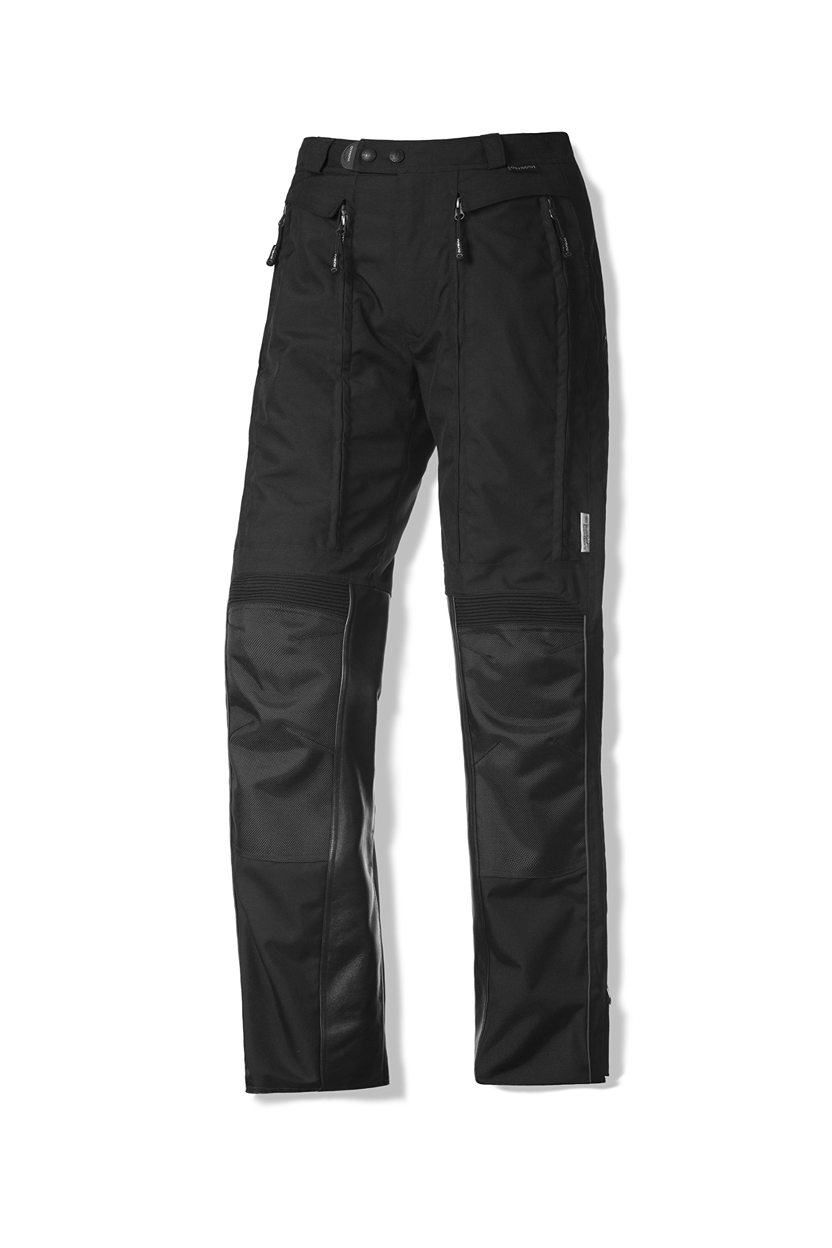 Olympia Sports X Moto 2 Men's Mesh Tech Street Racing Motorcycle Pants Black / Size 34