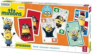 ASS Altenburger 22578001 – 3 en 1 Parte Caja – Minions: Amazon.es: Juguetes y juegos