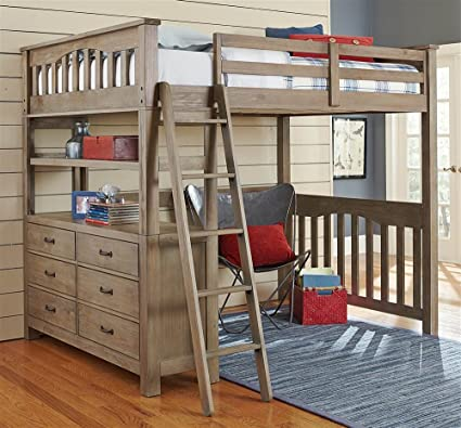 Amazon.com: NE Kids Full Loft Bed: Kitchen & Dining