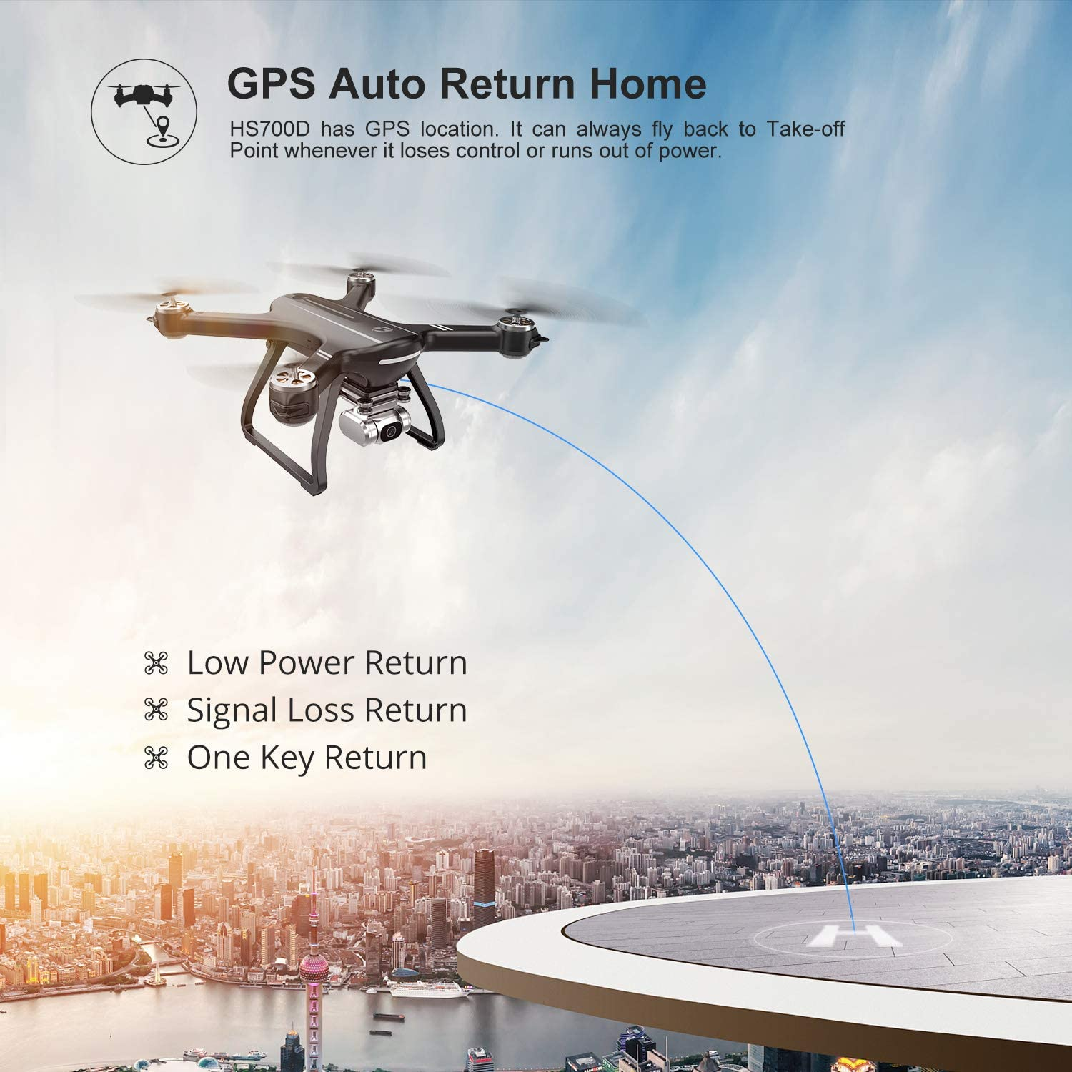 Holy Stone HS700D is at #5 for best drones under $300