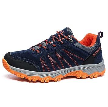 DANDANJIE Zapatos de Escalada de los Hombres Zapatos de Escalada de Senderismo Trekking Zapatos de Viaje Antideslizantes a Prueba de Agua al Aire Libre ...