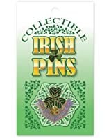 Lil' Green Shamrock Pin for Lapel / Hat / Collar Pin St. Patrick's Day