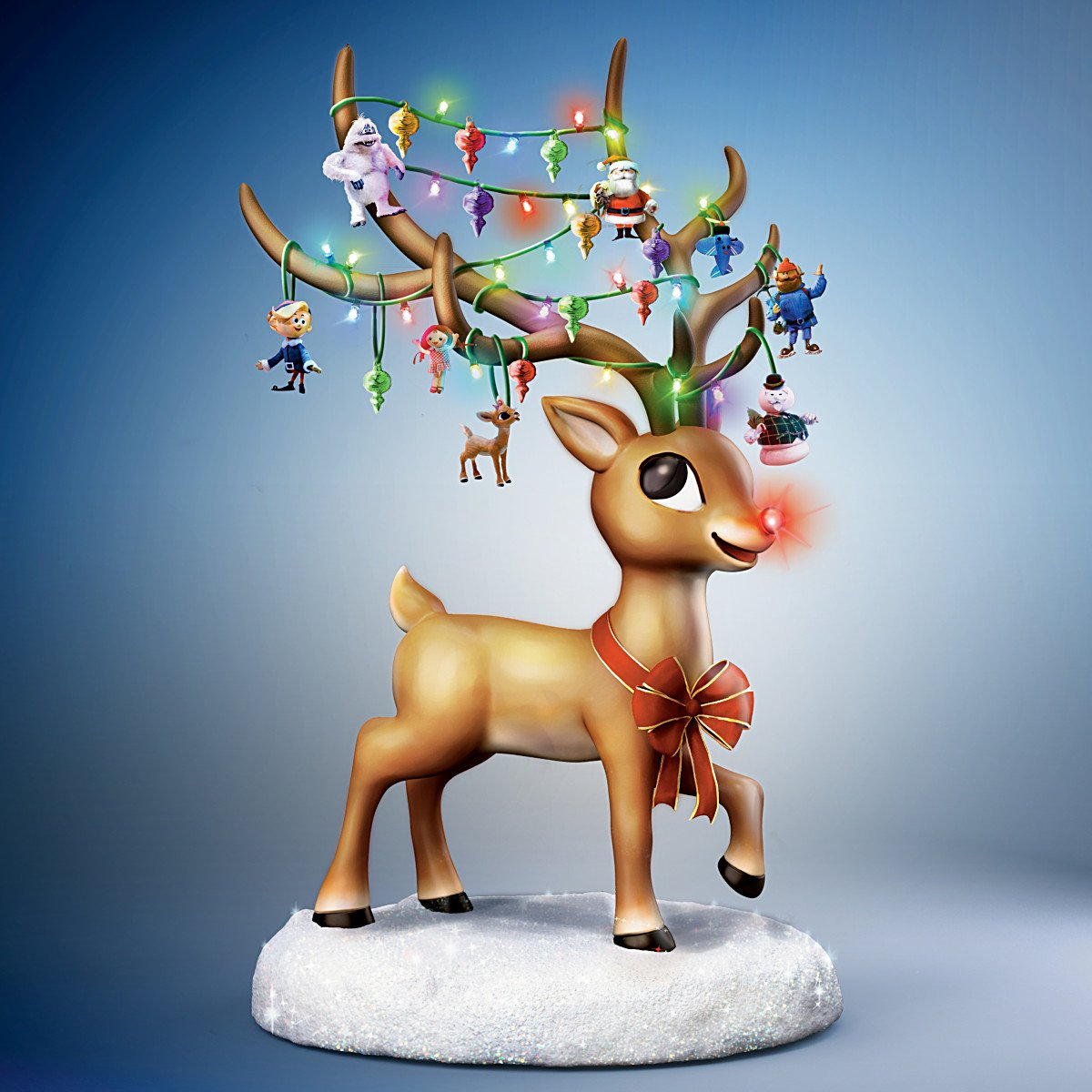 Amazon.com: Rudolph the Red Nosed Reindeer Illuminated Musical ...