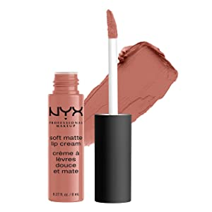 NYX PROFESSIONAL MAKEUP Soft Matte Lip Cream, High-Pigmented Cream Lipstick in San Francisco