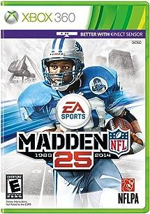 2b5f4b5bfba Amazon.com  Madden NFL 25 - Xbox 360  Video Games