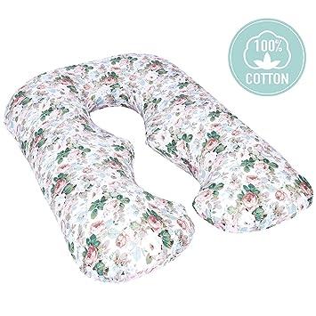 Amazon.com: TILLYOU - Funda de almohada de maternidad de ...