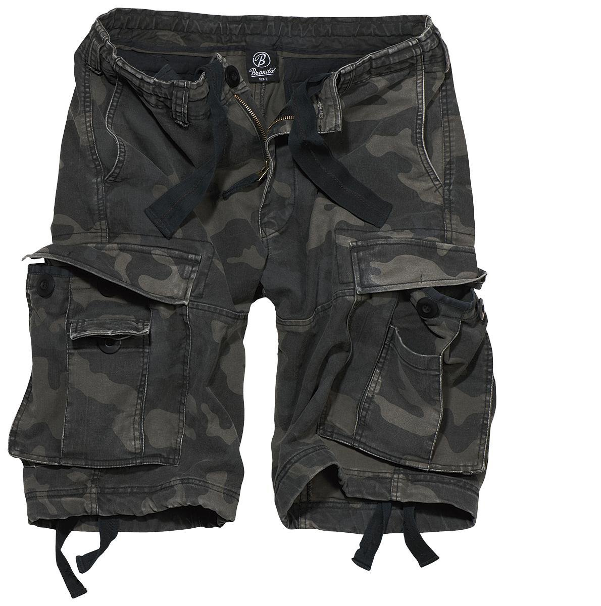 Brandit Vintage Classic Shorts Dark Camo Size XL