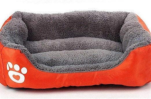 CZWYF Mascota Cama for Perros Calentamiento Casa for Perros Nido ...