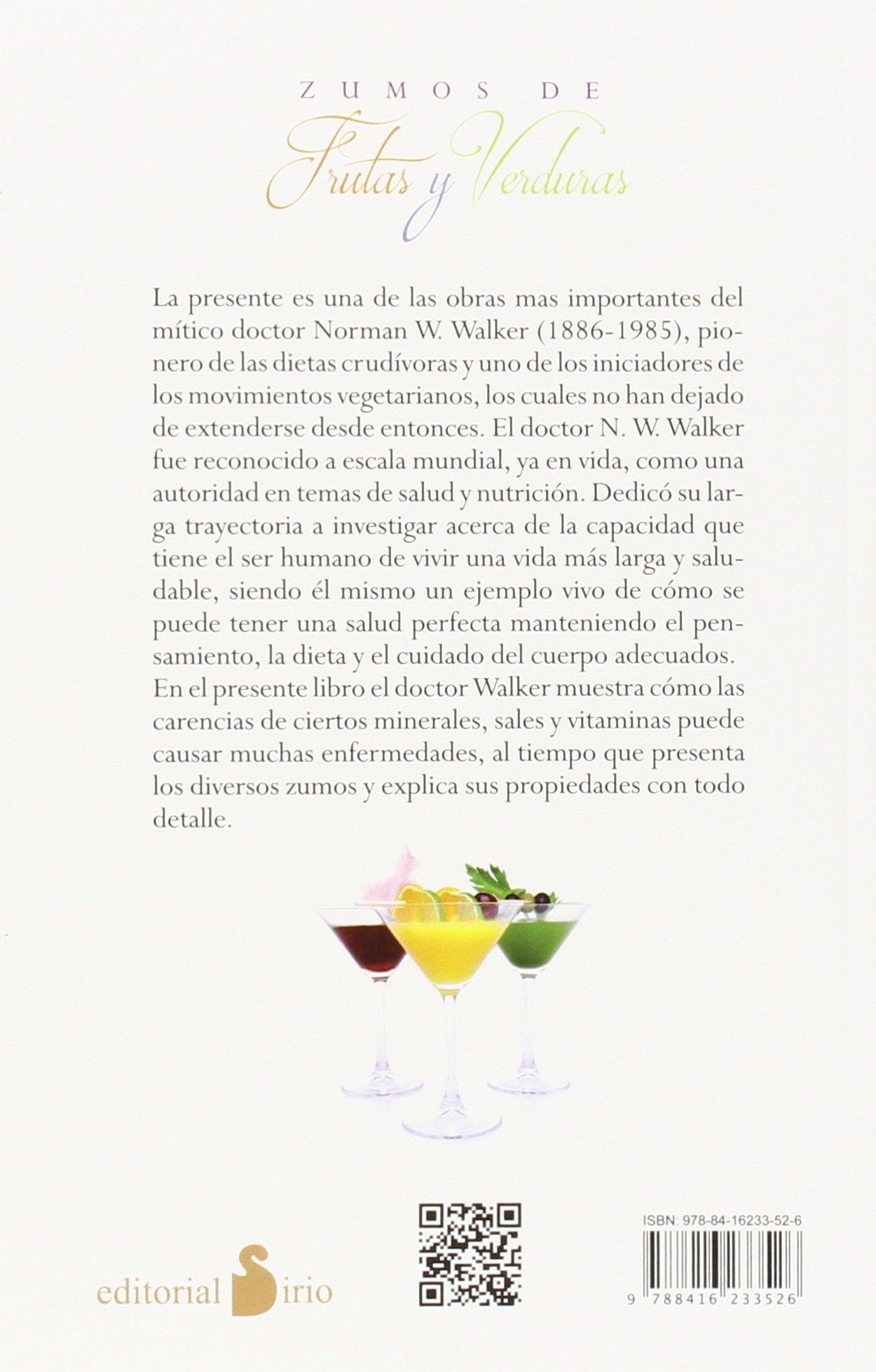 Amazon.com: Zumos de frutas y verduras (Spanish Edition) (9788416233526): N. H. Walker: Books