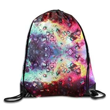 Kathleen Magic abstracto 3d impresión cachorro cara sonriente emoticono suave Casual mochila escolar libro bolsas mochila cordón mochilas para viajar o ir ...