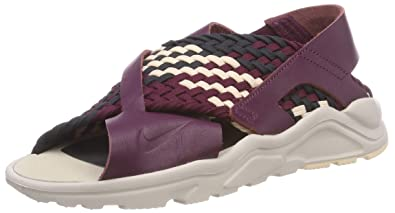8ef6f76f4159 Nike Air Huarache Ultra Women s Sandals Bordeaux Desert Sand Dark Smoke  885118-604