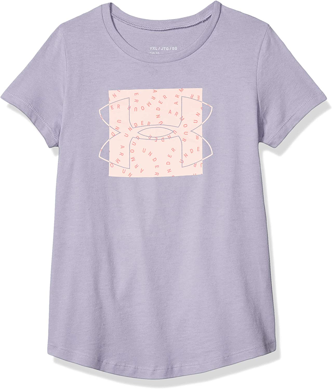 Under Armour Girls' Print Fill Graphic T-shirt Short Sleeve