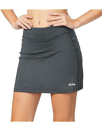 f8a6d8da1b Baleaf Women's Active Athletic Skort Lightweight Skirt with Pockets for Running  Tennis Golf Workout