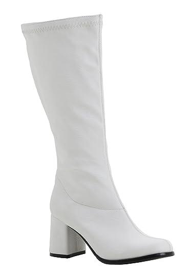 38103d6efdf89 Go Go Boots White