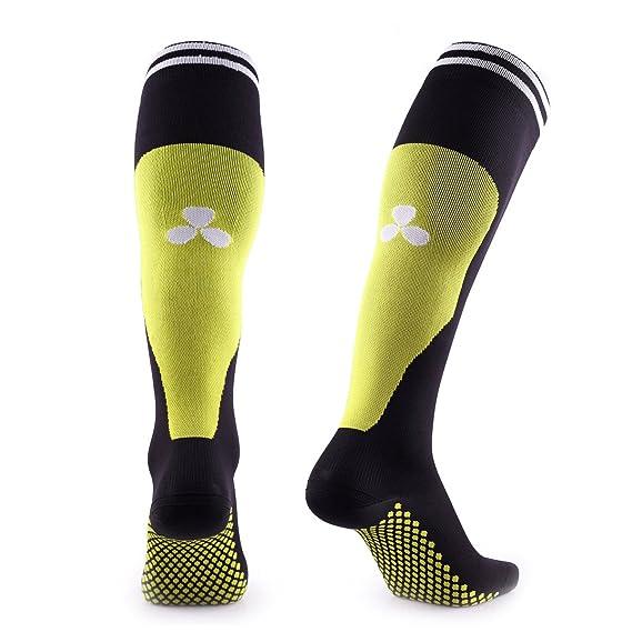 Calcetines de compresión Samson ®, para deportes, fútbol, entrenamiento, running, deporte, gimnasio. Para hombres y mujeres: Amazon.es: Ropa y accesorios