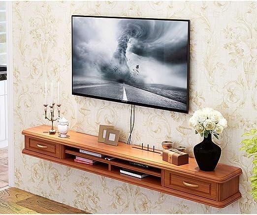 Estante Gabinete de TV montado en la pared Consola de TV Gabinete de TV Medios de