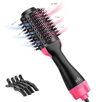 Amazon.com: Cepillo de aire caliente Beewarm secador de pelo ...
