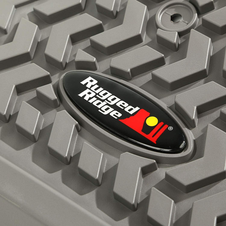 Rugged Ridge 82904.40 All Terrain Floor Liner Front 2010-2013 Toyota 4Runner Black