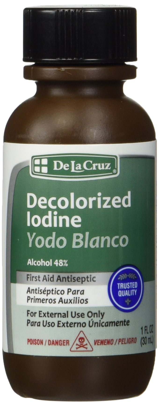 De La Cruz Decolorized Iodine