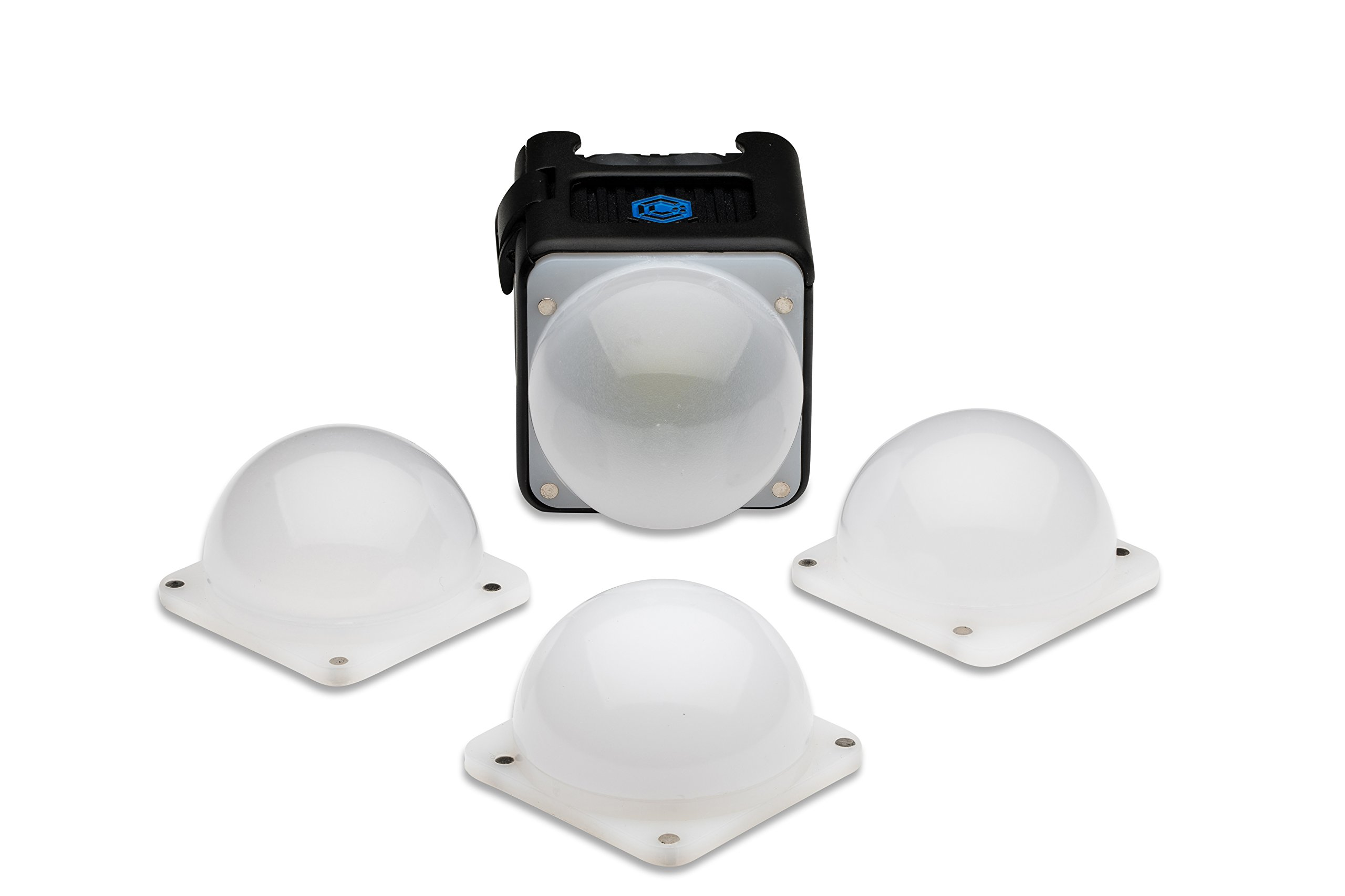 Lume Cube - Diffusion Bulb Pack for Light-House (Includes 4 Diffusion Bulbs) by LUME CUBE
