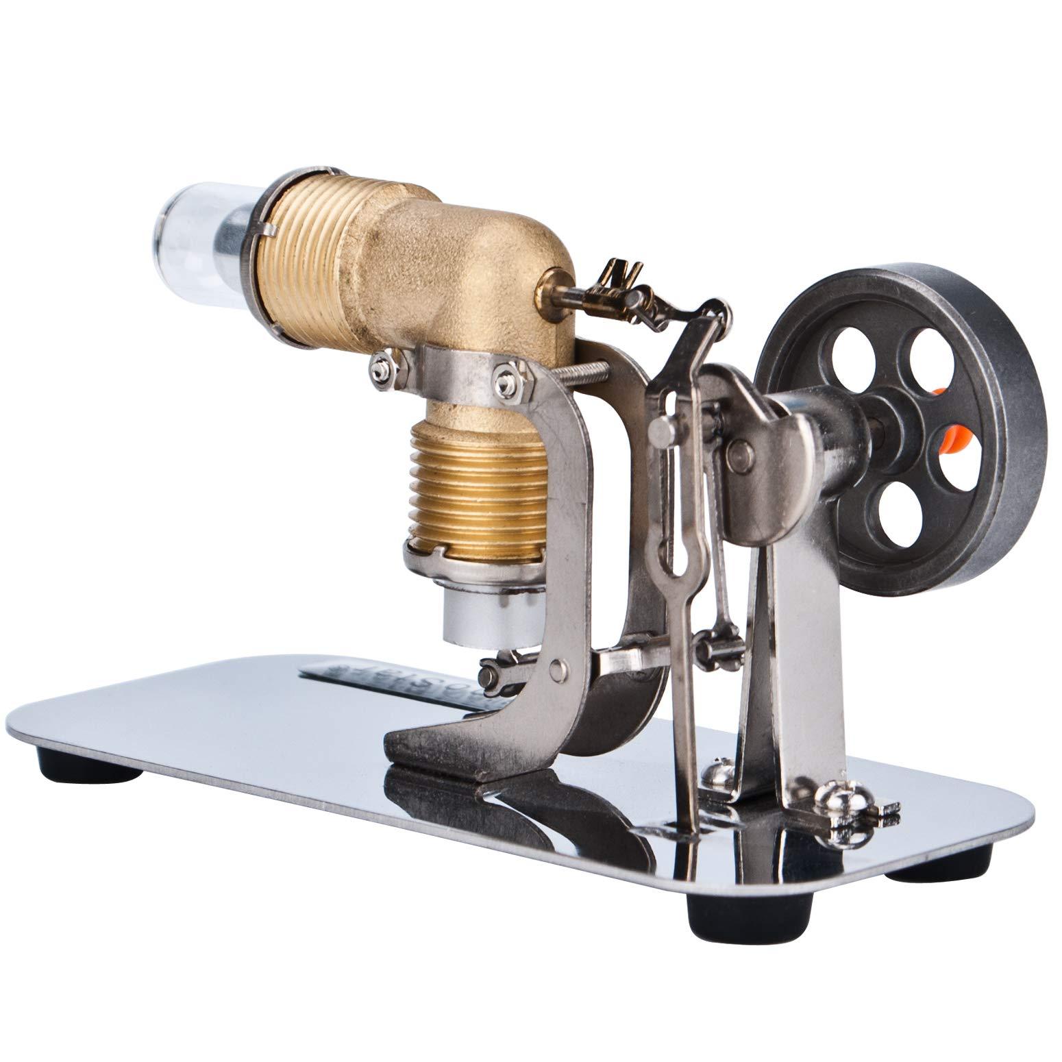 DjuiinoStar Mini Hot Air Stirling Engine: A High Performance Pocket-Sized Working Model by DjuiinoStar (Image #5)