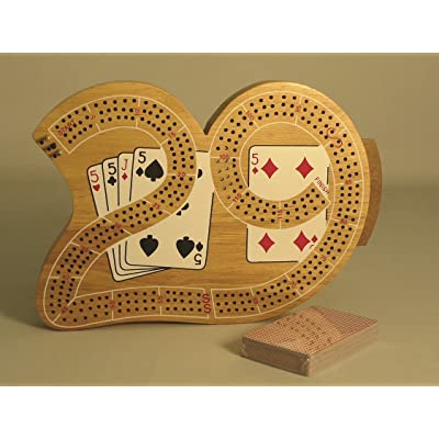 Play All Day Games 29 Cribbage: Toys & Games