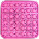Pop It Cuadrado Juguete Anti Estrés Fidget Push Bubble, Juguete Sensorial Fidget - Juguete para bebés, niños, ancianos y auti