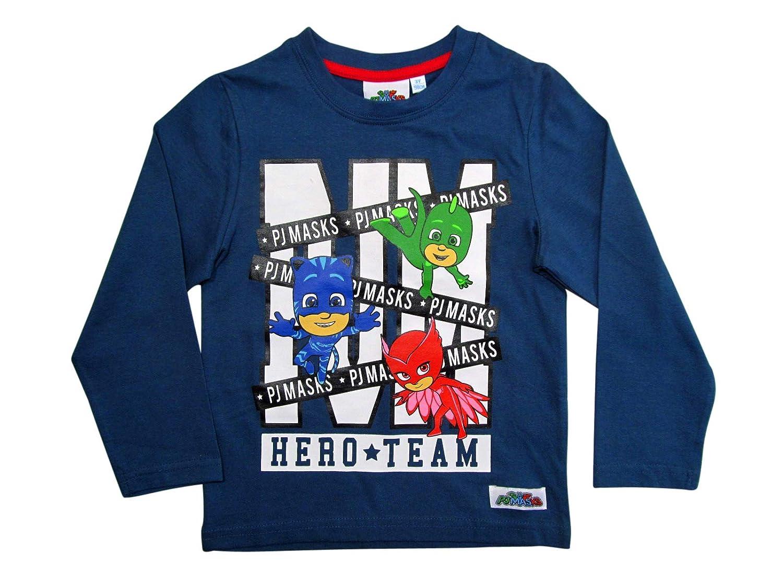 PJ Masks - Camiseta de Manga Larga para niño, diseño de Pijama ...