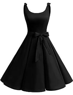 5486af1862998 Bbonlinedress 1950's Bowknot Vintage Retro Polka Dot Rockabilly Swing Dress