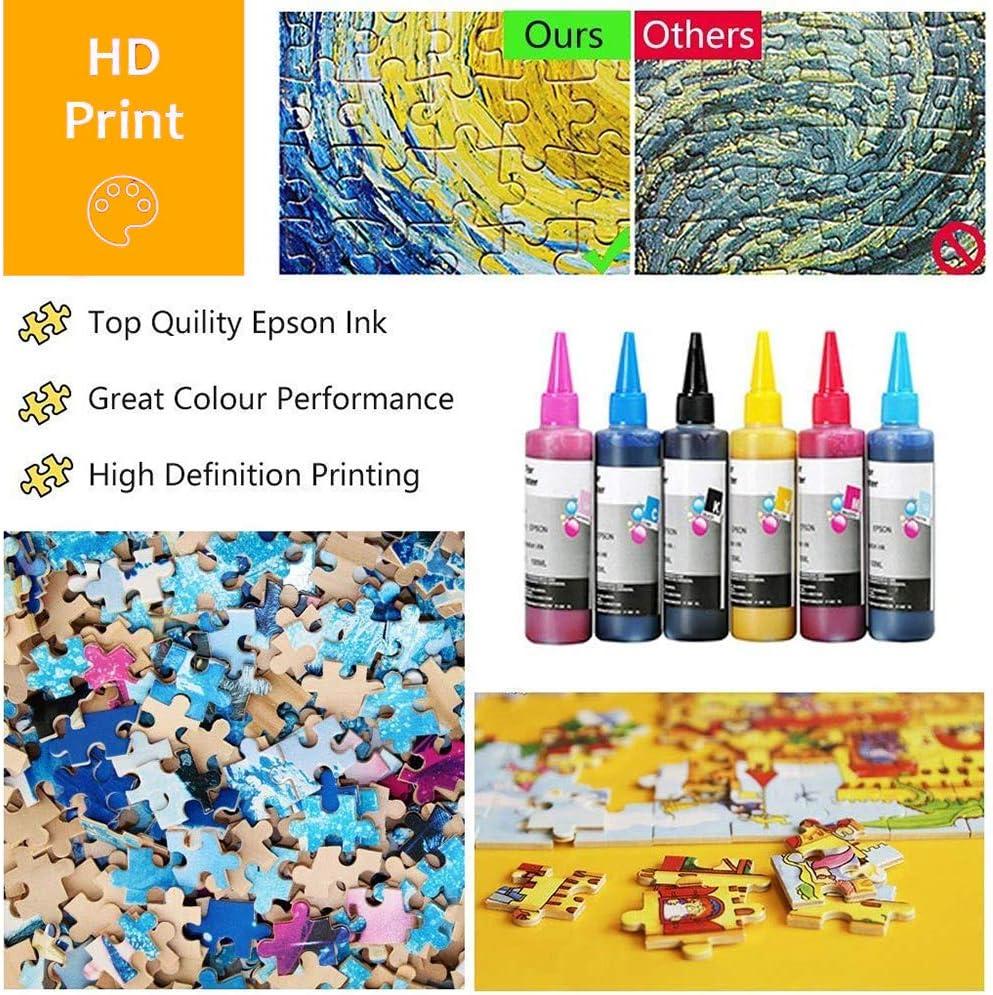 JW-MZPT Adult Puzzles aus Holz, Kinder Lernspielzeug Geschenke, chinesische Kalligraphie und Malerei 1000pieces
