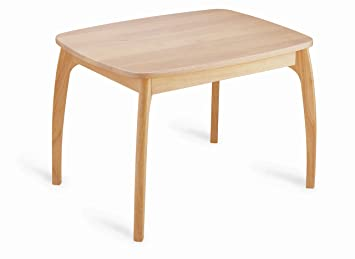 Pintoy Junior Table Natural Wood: Amazon.co.uk: Kitchen & Home