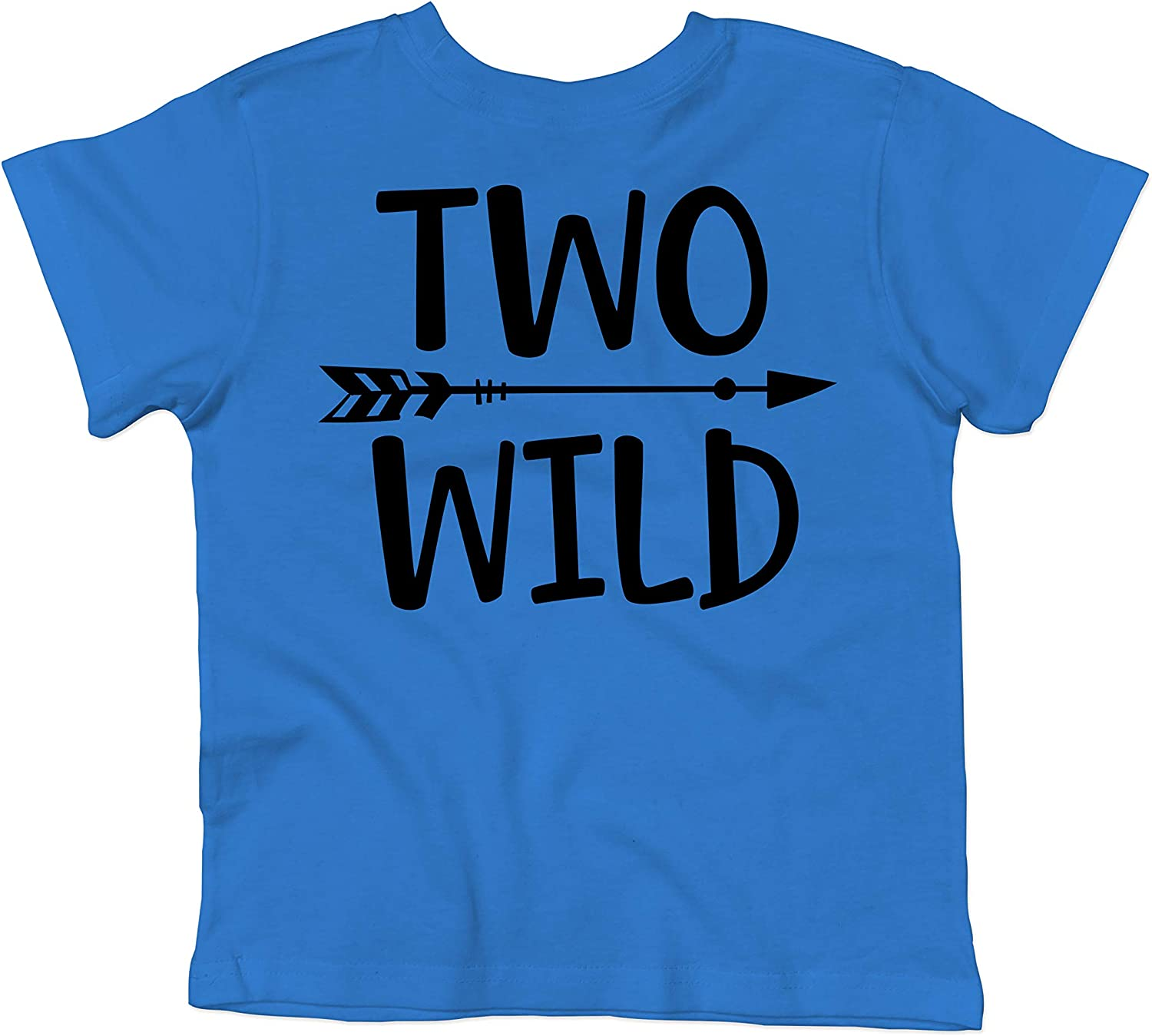 Olive Loves Apple Two Wild 2nd Birthday Shirt for Toddler Boys 2nd Birthday Shirt Boy 3//4 Sleeve