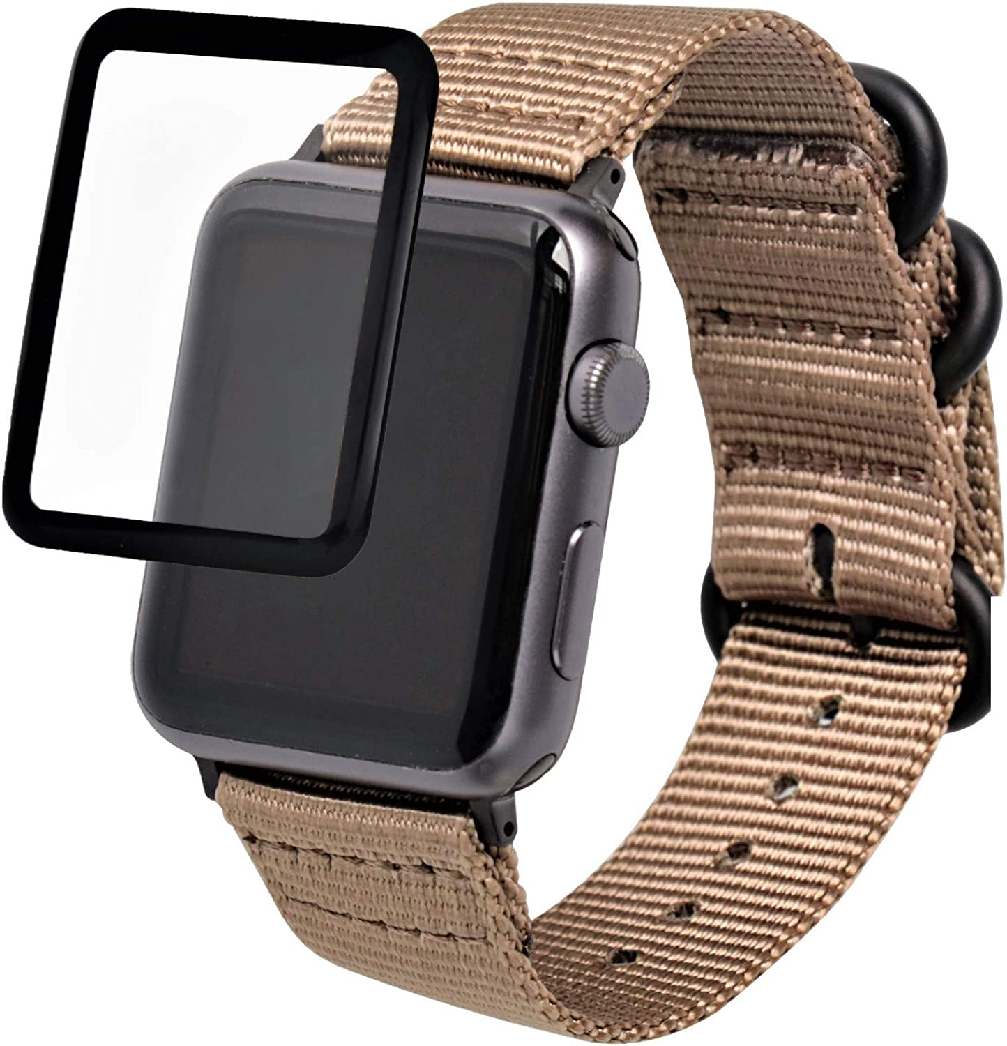 Zeit Diktator Compatible for Apple Watch Bands 38mm 40mm 42mm 44mm for Men Women Quickfit Watch Band for Apple Watch Series 1/Series 2/Series 3/Series 4/Series 5/Series 6,Optional Color