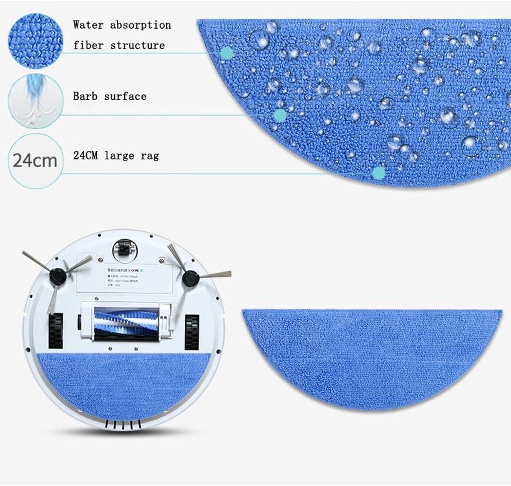 Nettoyage Automatique pour les Poils d\'Animaux Smart Robot Aspirateur Système de Nettoyage en 3 Étapes pour sols durs et moquettes (Color : Pink) Pink