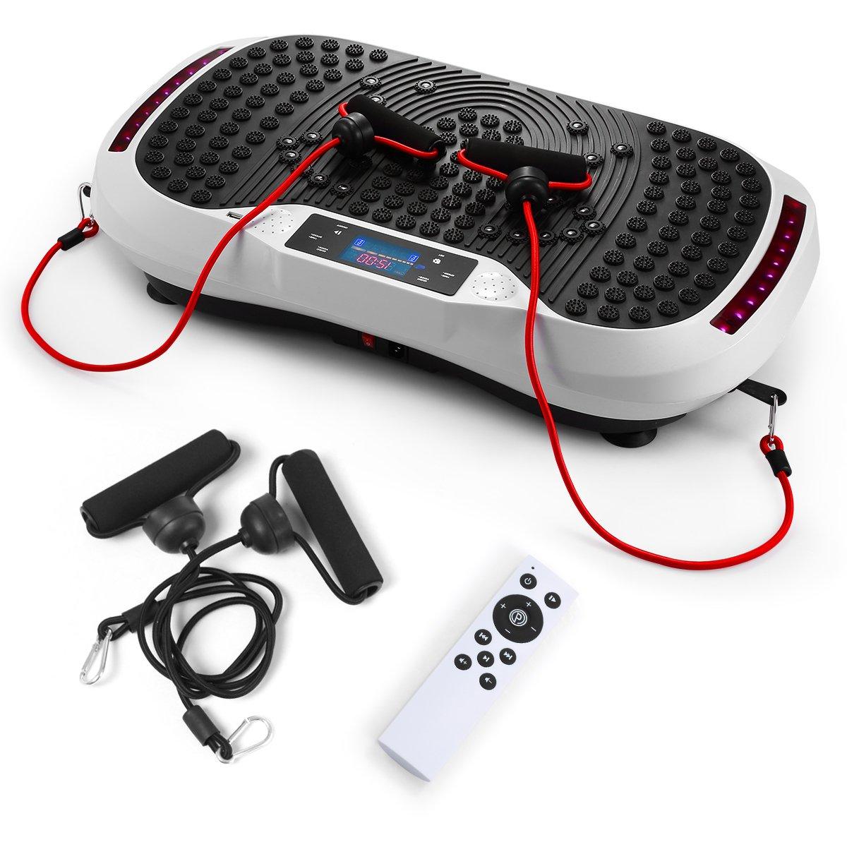 GENKI YD-1015W Vibration Platform Plate Whole Body Massager Machine Slim Exercise Fitness by GENKI (Image #1)