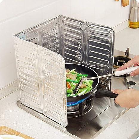 Candyboom Cocina Estufa de Gas Deflector de Aceite Papel de ...