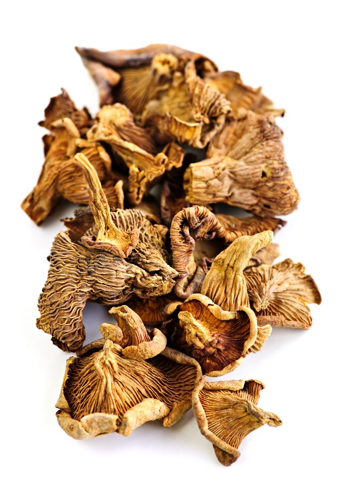 Nagrani Dried Chanterelle Mushrooms, 4 Ounce
