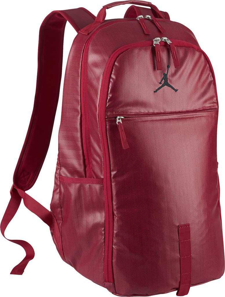 Nike mens JORDAN JUMPMAN BACKPACK 806374-687 - GYM RED/GYM RED/BLACK by Jordan