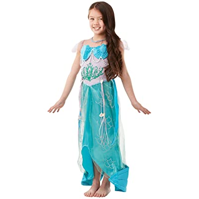 Let's Pretend Child's Deluxe Mermaid Costume, Small: Toys & Games