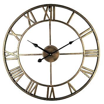 Lovely grande redondo reloj de pared para cocina, Eruner bonito salón Big Reloj