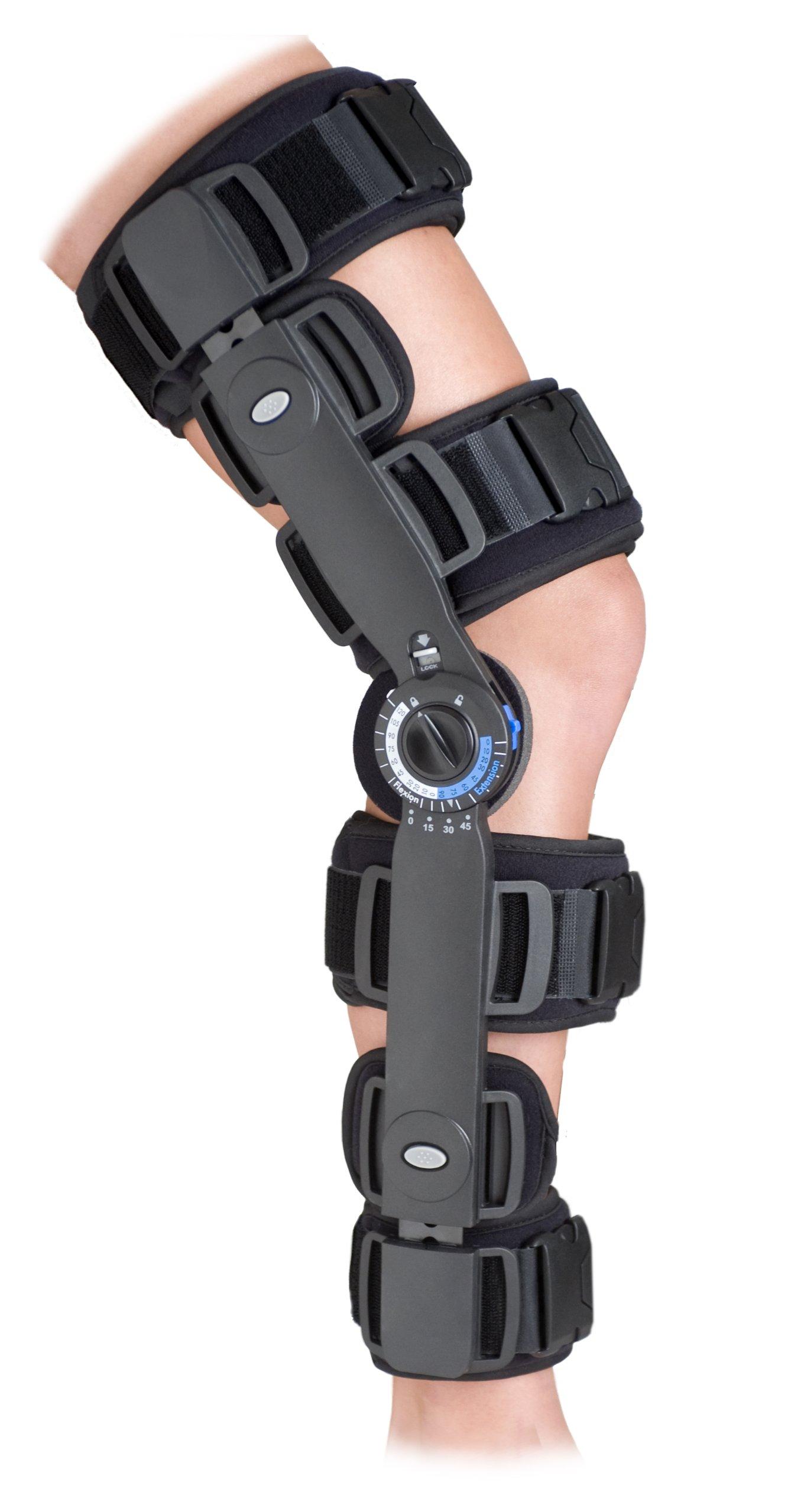 ITA-MED NKN-133 Advanced Rom Post-Op Knee Brace, XL
