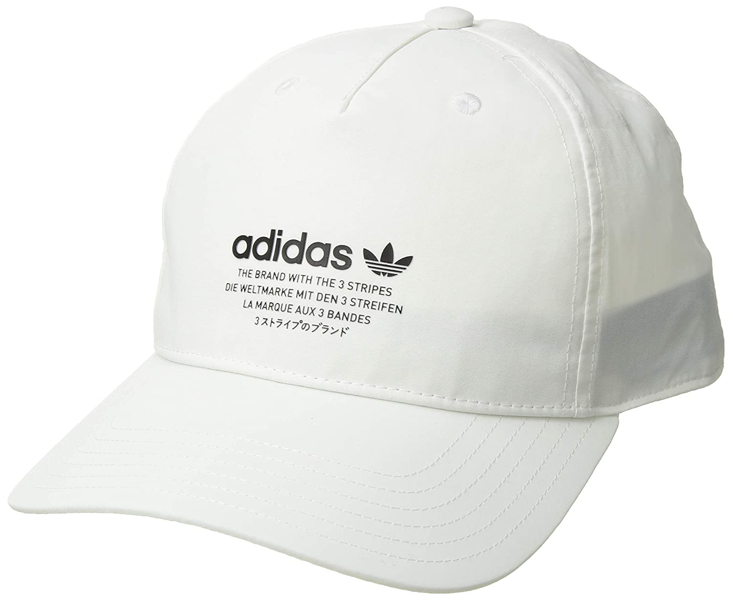 b4efee26 Amazon.com: adidas Men's Originals NMD Relaxed Strapback Cap, black/white,  One Size: Sports & Outdoors