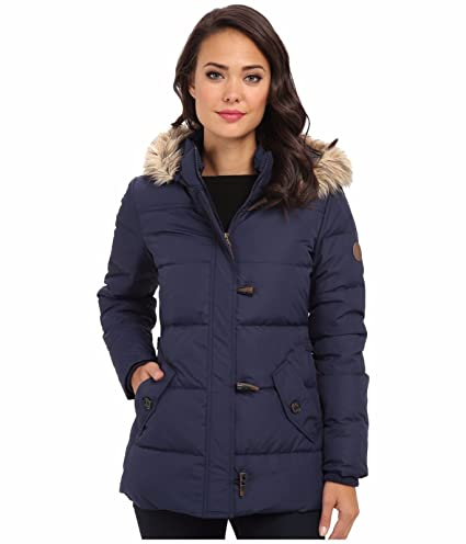 fa7eff7a3bb Amazon.com: LAUREN by Ralph Lauren Down Toggle Coat For Women Large ...