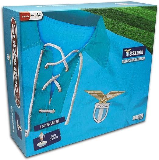 Giochi Preziosi - Subbuteo Lazio Playset Retro con Alfombra de Juegos, 2 Puertas, balón y 22 Jugadores: Amazon.es: Juguetes y juegos