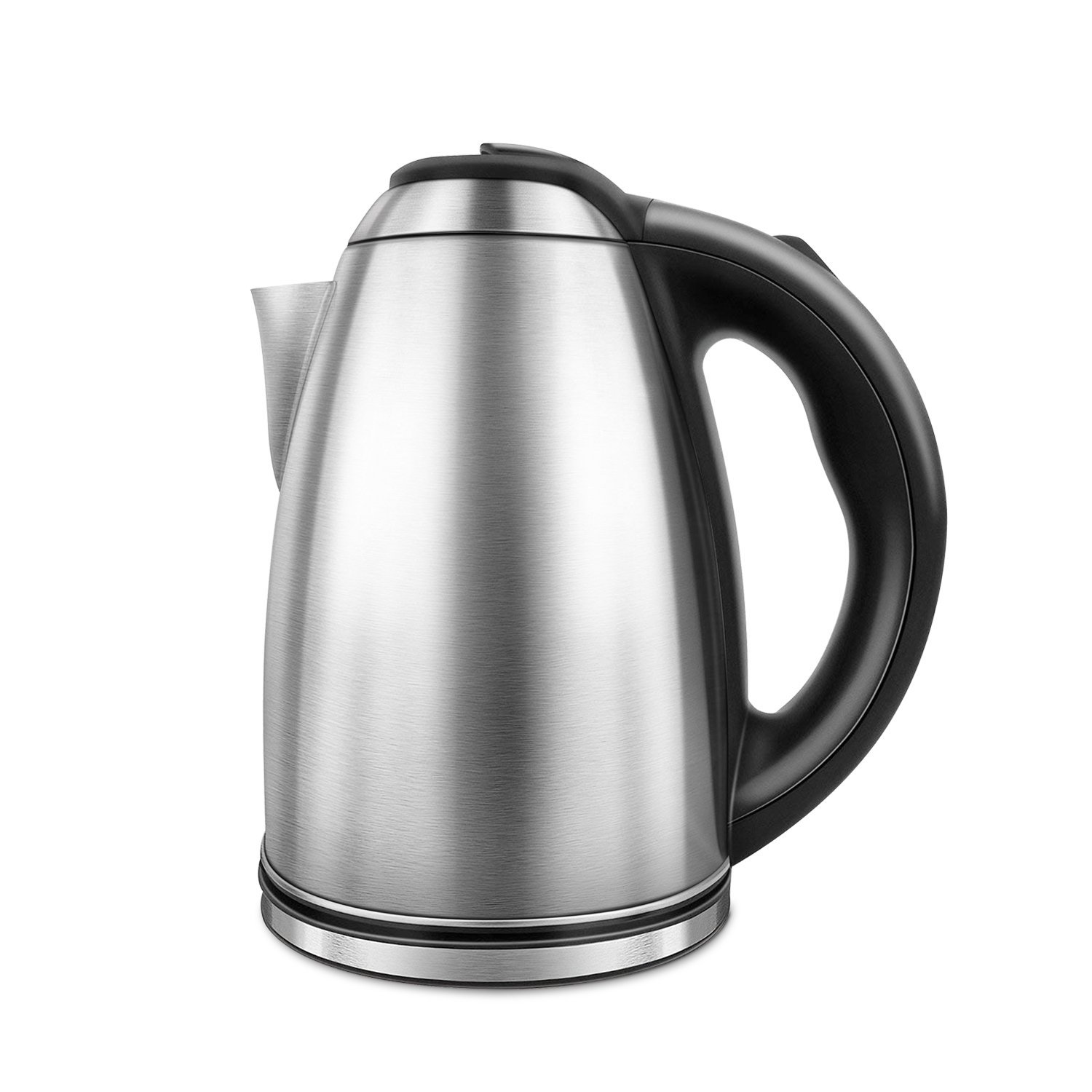 Electric Kettle, Hot Water Kettle 1.8 Liter, Stainless Steel Cordless Tea Kettle 1200W with Auto Shut-off, Boil-Dry Protection, Electric Tea Pot Perfect For Brewing Teas, Coffee By Túasia