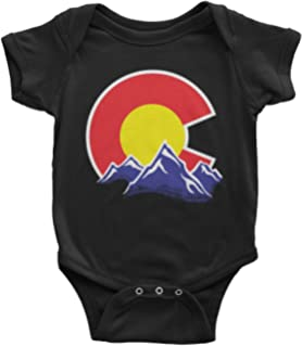 Threadrock Baby Colorado Mountain Infant Bodysuit
