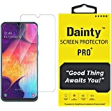 Dainty Tempered Glass Screen Guard Gorilla Protector for Samsung Galaxy M30s with Easy Installation Kit (Full Screen Coverage Except Edges - 11D Original Temper) (Transparent) (Pack of 1)
