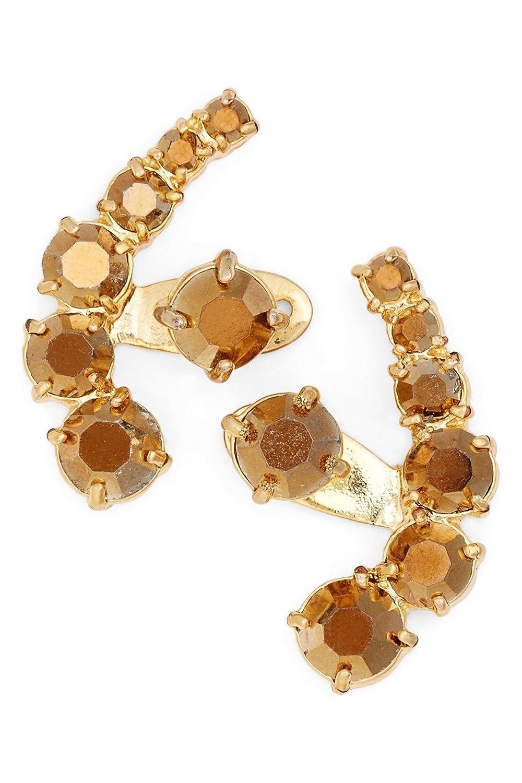 Amazon.com: Kate Spade \'Dainty Sparklers\' Ear Jacket Earrings, Amber ...